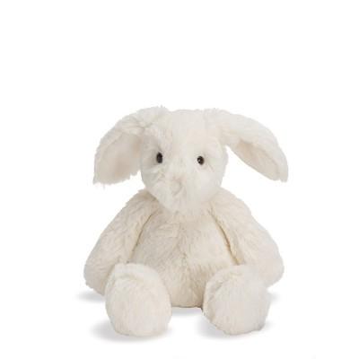 "Manhattan Toy Lovelies Riley Rabbit Plush, White, 8"""