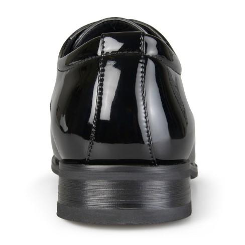 2d573dd962119 Men s Vance Co. Cole Faux Leather Lace-up Dress Shoes   Target