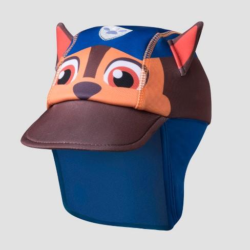 Toddler Nickelodeon PAW Patrol Chase Safari Sun Hat - Blue One Size   Target b3cb27b3c8a