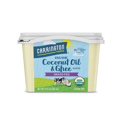Carrington Farms Organic Coconut Oil and Ghee - 12oz