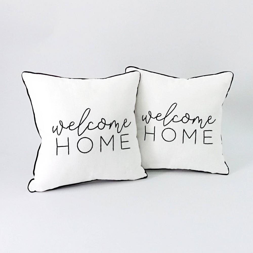 2ct Welcome Home Pillow Bullseye 39 S Playground 8482