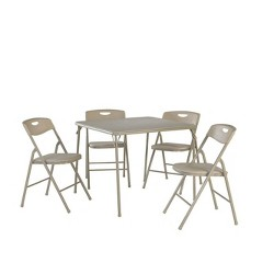 5pc Folding Table and Chair Set - Room & Joy
