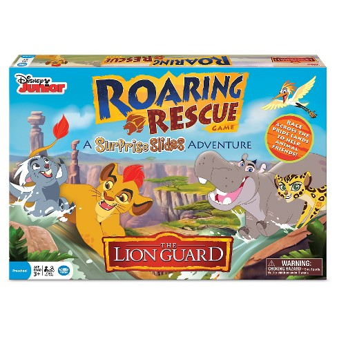 Lion Guard Surprise Slides Roaring Rescue Board Game - image 1 of 2