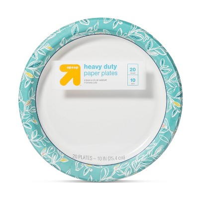 Multi Vine Paper Plate 10  - 20ct - Up&Up™