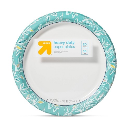 """Multi Vine Paper Plate 10"""" - 20ct - Up&Up™ - image 1 of 2"""