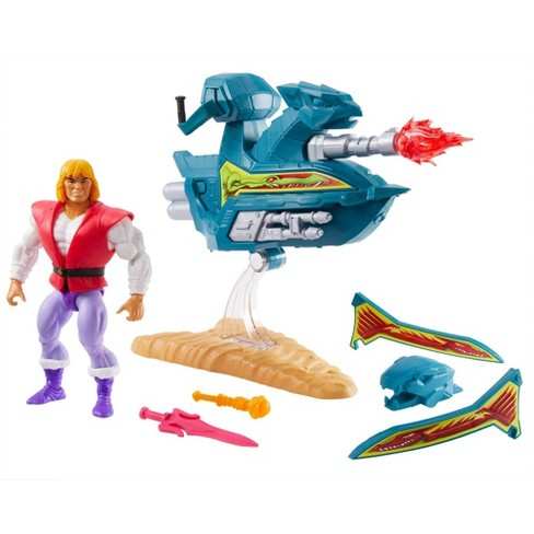 Masters of the Universe Sky Sled & Prince Adam - image 1 of 4