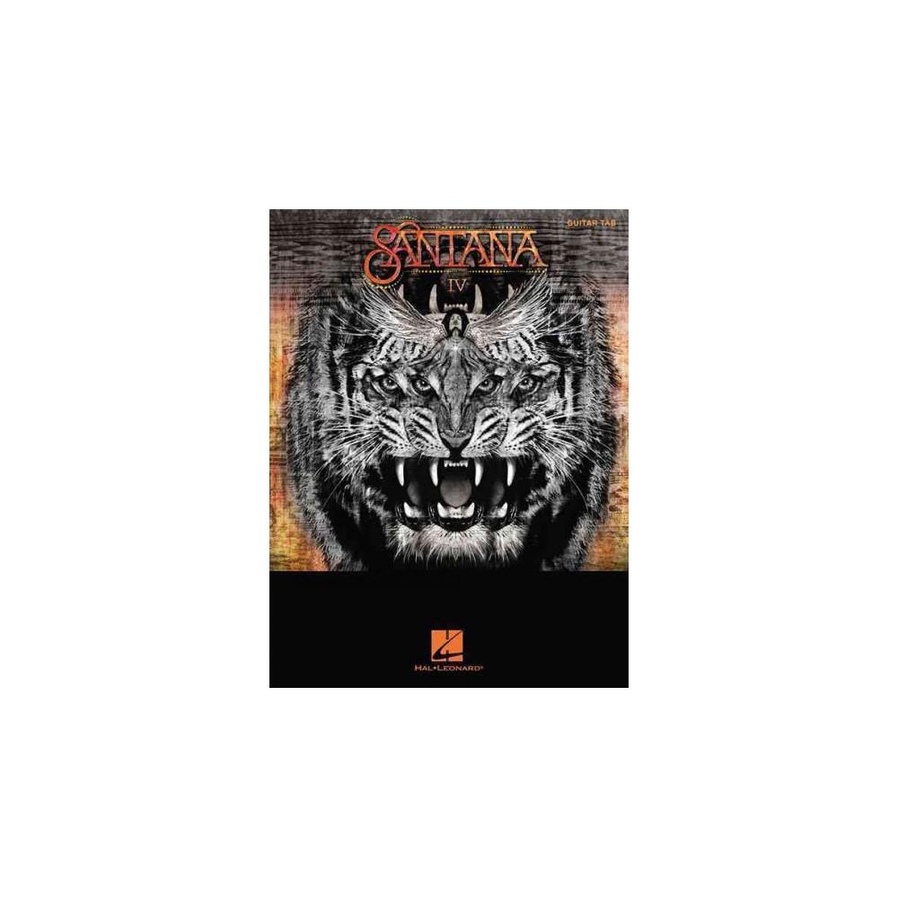 Santana : Tab Transcriptions With Lyrirs;me (Paperback)