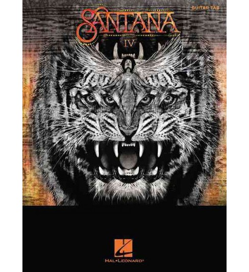 Santana : Tab Transcriptions With Lyrirs;me (Paperback) - image 1 of 1