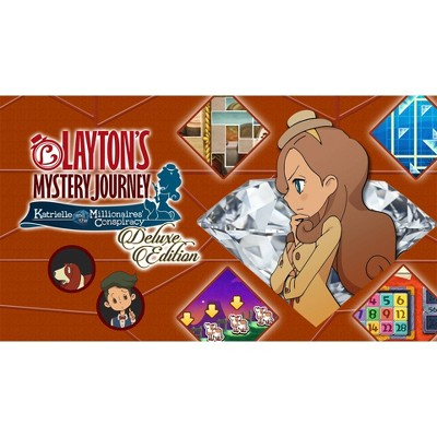 Layton's Mystery Journey: Katrielle and the Millionaires' Conspiracy Deluxe Edition - Nintendo Switch (Digital)