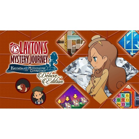 Layton's Mystery Journey: Katrielle and the Millionaires' Conspiracy Deluxe Edition - Nintendo Switch (Digital) - image 1 of 4