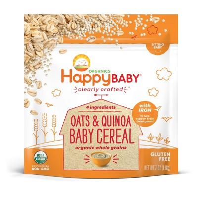 Baby Food: Happy Baby Cereal