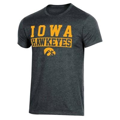 NCAA Iowa Hawkeyes Men's Short Sleeve Crew Neck T-Shirt - XXL
