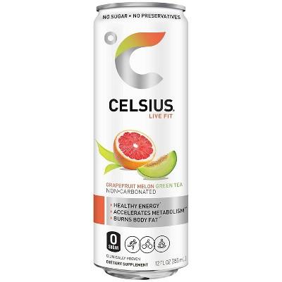Celsius Grapefruit Melon Energy Drink - 12 fl oz Can
