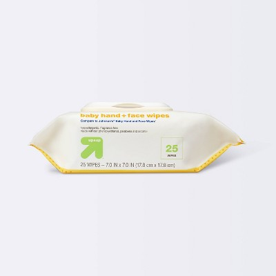 Hand and Face Wipes - 25ct - up & up™