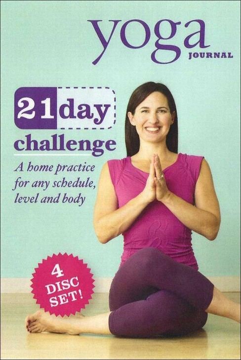 Yoga journal:21 day challenge transfo (DVD) - image 1 of 1