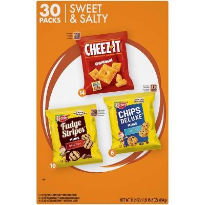 Keebler Cookies Sweet and Salty Variety Pack - 30ct