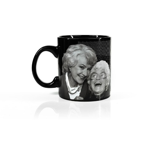 Just Funky The Golden Girls Coffee Mug   Golden Girls Laughing Cast   Holds 20 Ounces - image 1 of 4