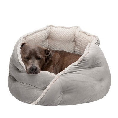 FurHaven Calming Wrap-Around Hug Small Dog and Cat Bed