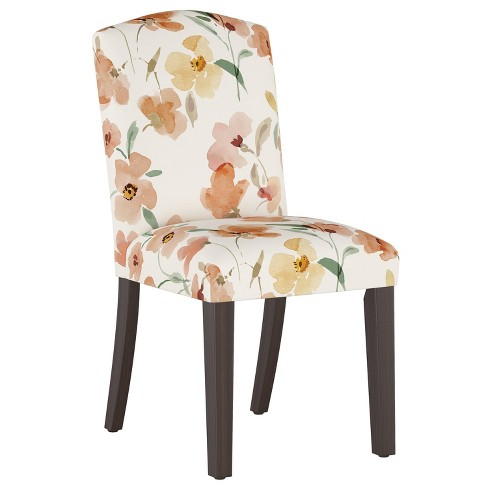 Camel Back Dining Chair Ginny Floral Harvest - Cloth & Company - image 1 of 4