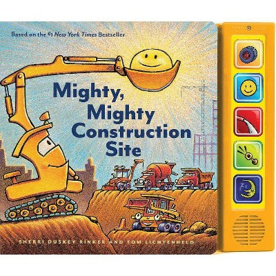 Mighty, Mighty Construction Site - by Sherri Duskey Rinker (Board_book)