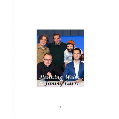 Henning Wehn and Jimmy Carr! - by  Vincent Price (Paperback) - image 1 of 1