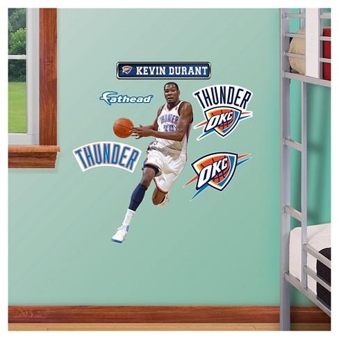 6a014d8d76f Oklahoma City Thunder Fathead® Decorative Wall Art Set - 40