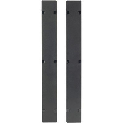 APC Rack Cable Management Panel Cover Components Other AR7581A, Black