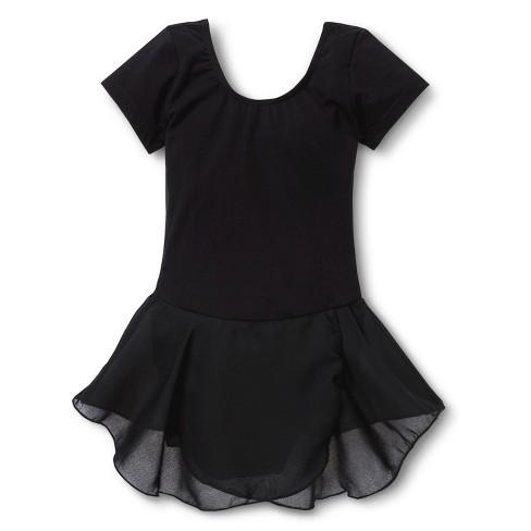 4196af3e1 Danz N Motion Girls  Activewear Leotard Dress - Black   Target