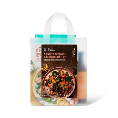 Sesame Teriyaki Chicken Stir Fry Meal Bag - 44.8oz