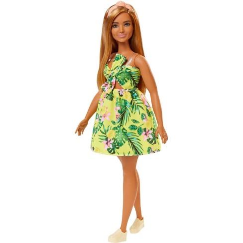 Barbie Fashionistas Doll #126 Jungle Dress - image 1 of 4