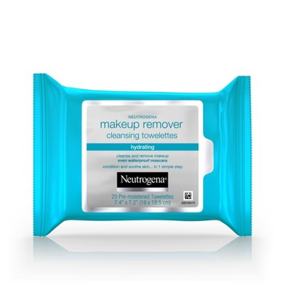 Facial Cleansing Wipes: Neutrogena Hydrating Makeup Remover