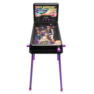 Arcade Alley Electronic Space Adventure Free Standing Pinball with Lights and Sounds