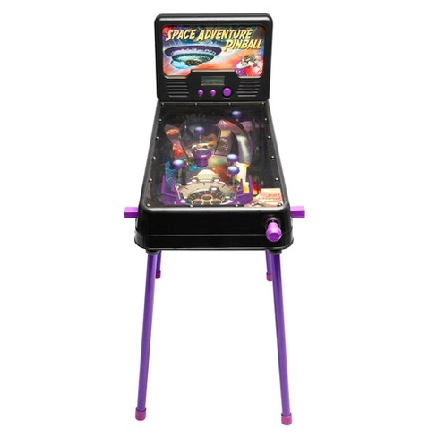 arcade alley electronic space adventure free standing pinball with