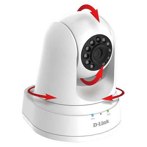 D-Link HD Pan and Tilt Wi-Fi Camera (DCS-5030L) - image 1 of 4