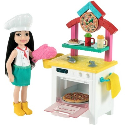 ​Barbie Chelsea Can BePizza Chef Doll Playset