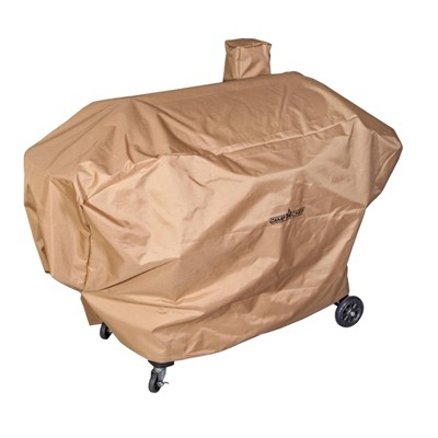 Camp Chef SmokePro Pellet Grill Long Patio cover - Light Tan