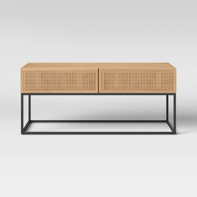 Belmar Woven Drawer Coffee Table Natural - Project 62™