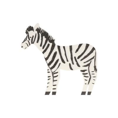 Meri Meri Safari Zebra Napkins