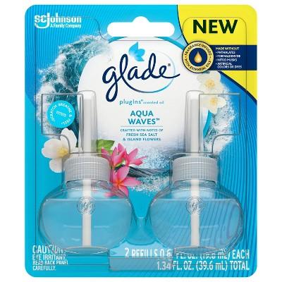 Glade Aqua Waves PlugIns Refill - 2ct