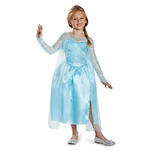Girls' Frozen Elsa Halloween Costume - image 1 of 1