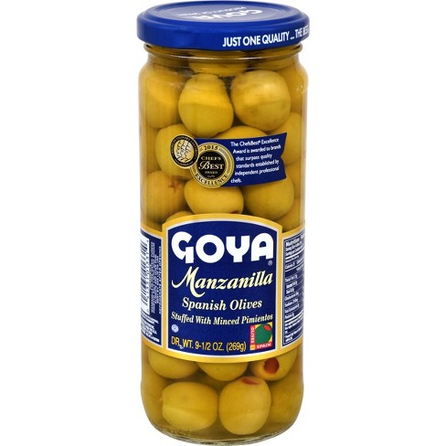 Goya Stuffed Olives 9.5 oz - image 1 of 4