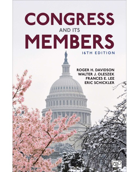 Congress and Its Members -  (Paperback) - image 1 of 1