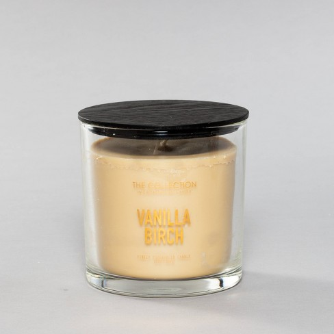 13oz Lidded Glass Jar 2-Wick Candle Vanilla Birch - The Collection By Chesapeake Bay Candle - image 1 of 3