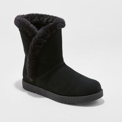 Women's Daniah Suede Winter Boots   Universal Thread™ by Universal Thread