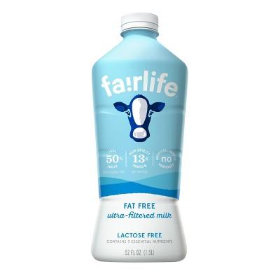 Fairlife Lactose-Free Skim Milk - 52 fl oz