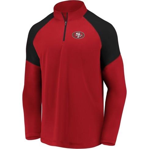 Nfl San Francisco 49ers Men S Long Sleeve 1 4 Zip Sweatshirt Target