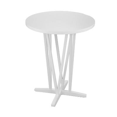 Divya Bar Height Table White - Aiden Lane