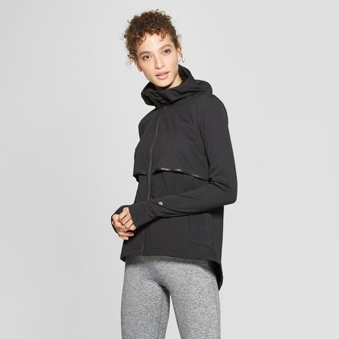 8fb98e117859 Women s Woven Run Track Jacket - C9 Champion® Black XS   Target