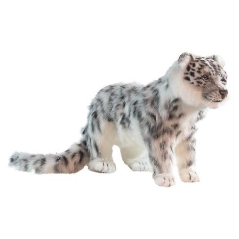 Hansa Standing Snow Leopard Plush Toy Target