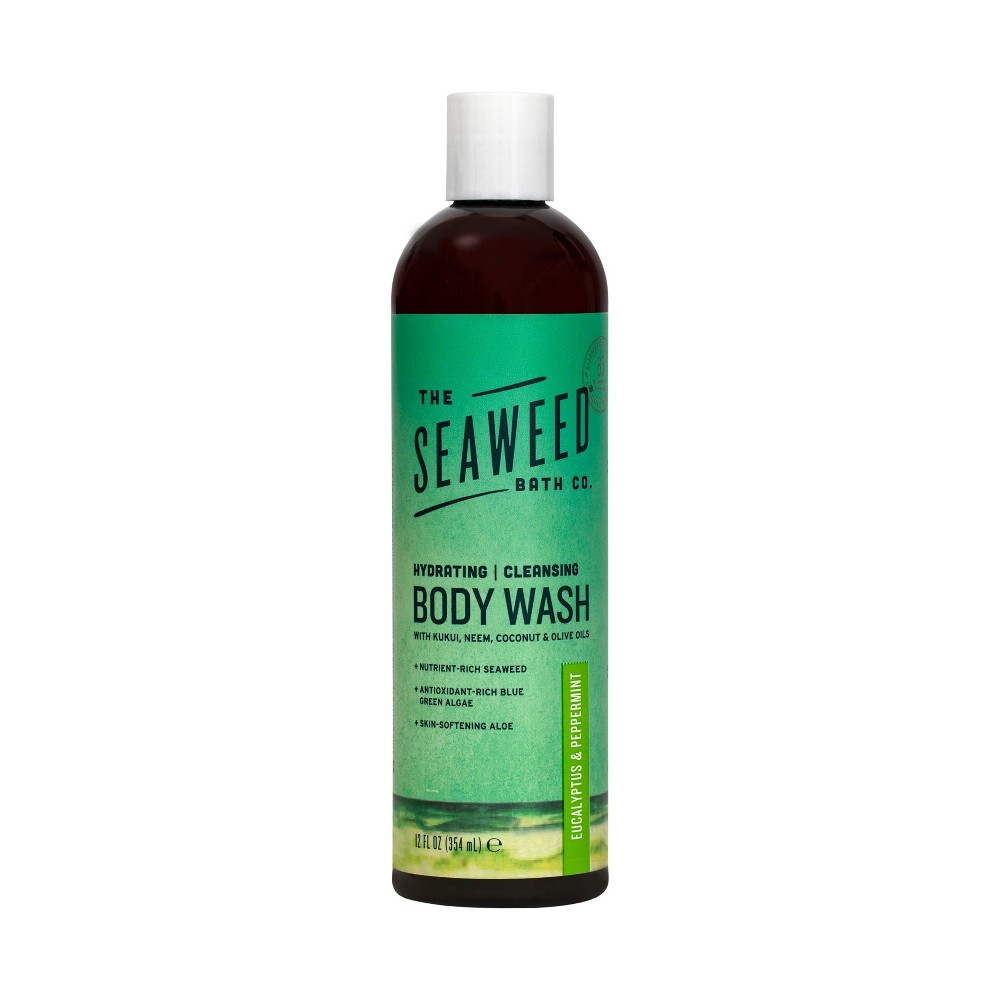 Image of The Seaweed Bath Co. Eucalyptus & Peppermint Body Wash - 12oz